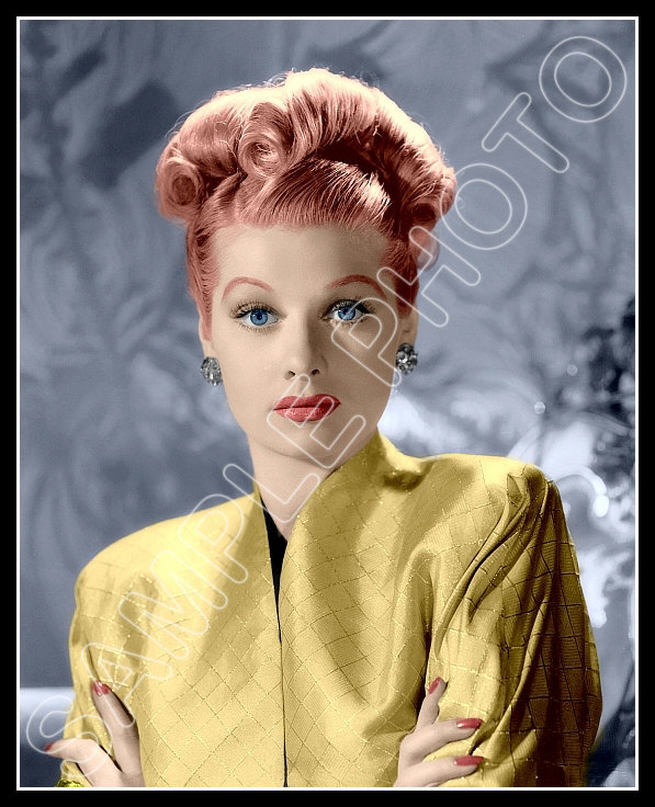 LUCILLE BALL! 8x10 Glossy Photo! *All 8x10s Buy 3 Get 1
