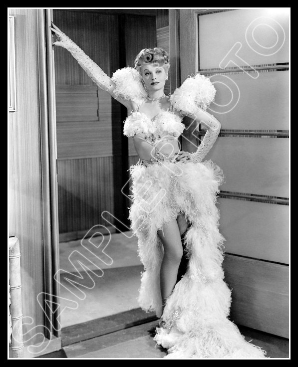 lucille ball photo 8x10 - meet the people 1943 lucy