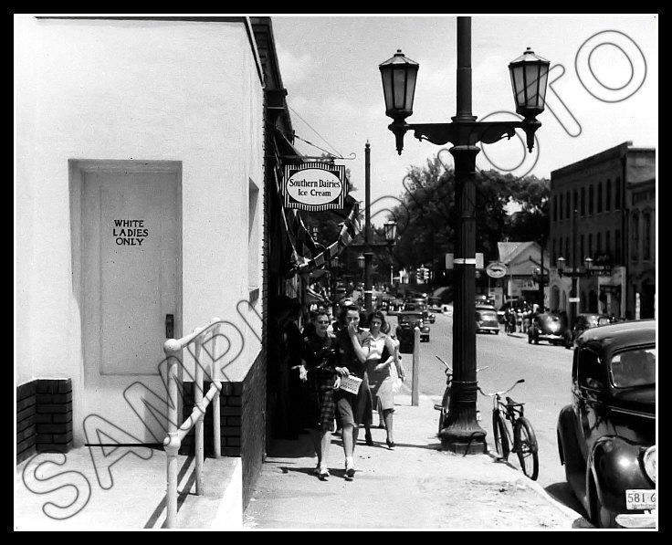 White Ladies Only Bathroom Photo 8X10 Durham NC 1940 Buy Any 2 Get One FREE