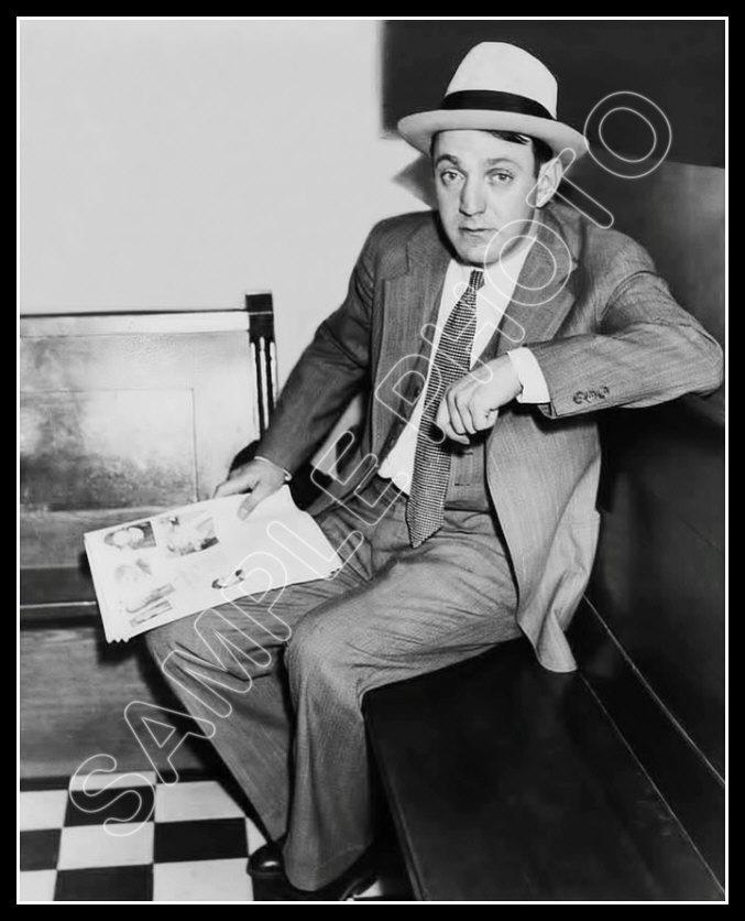Jewish Mobster New York Mafia Dutch Schultz Photo 8X10 Buy Any 2 Get 1 FREE