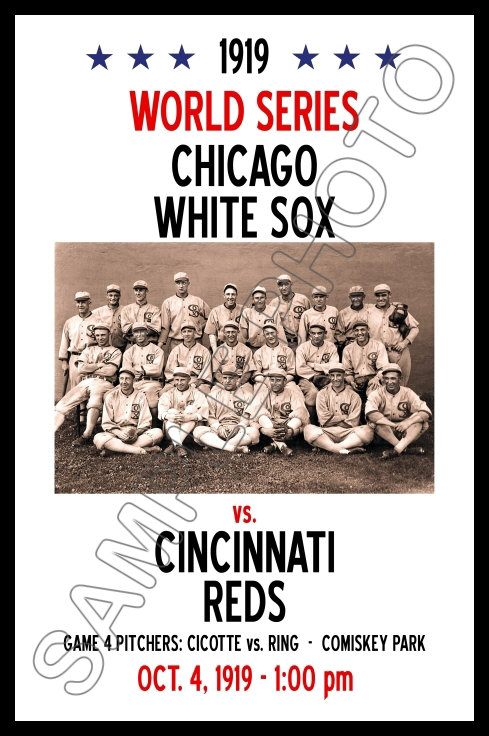 1919 world series thesis statement The black sox scandal: chicago throws the 1919 world series essaysyou've probably heard of the chicago black sox scandal, but don't know what it's about in the 1919 world series eight players took money from gamblers to fix the series so that the cincinnati reds would win that act w.