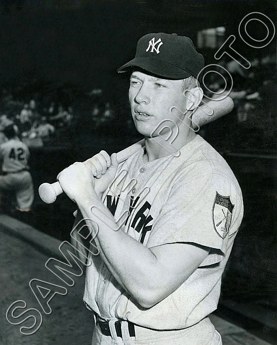 Mickey Mantle #2 Photo 8x10 - 1951 Yankees Rookie
